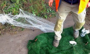 Astroturf as a form of 'Green Waste'.